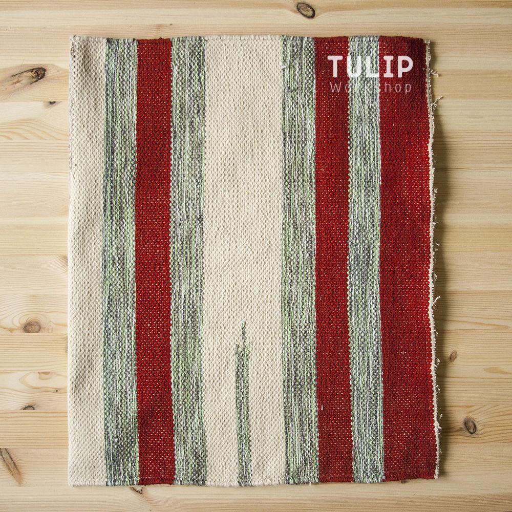 Шьем сумку-шоппер из домотканого коврика без выкройки, фото № 3