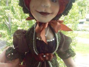 Рождение куклы Эстер. Ярмарка Мастеров - ручная работа, handmade.