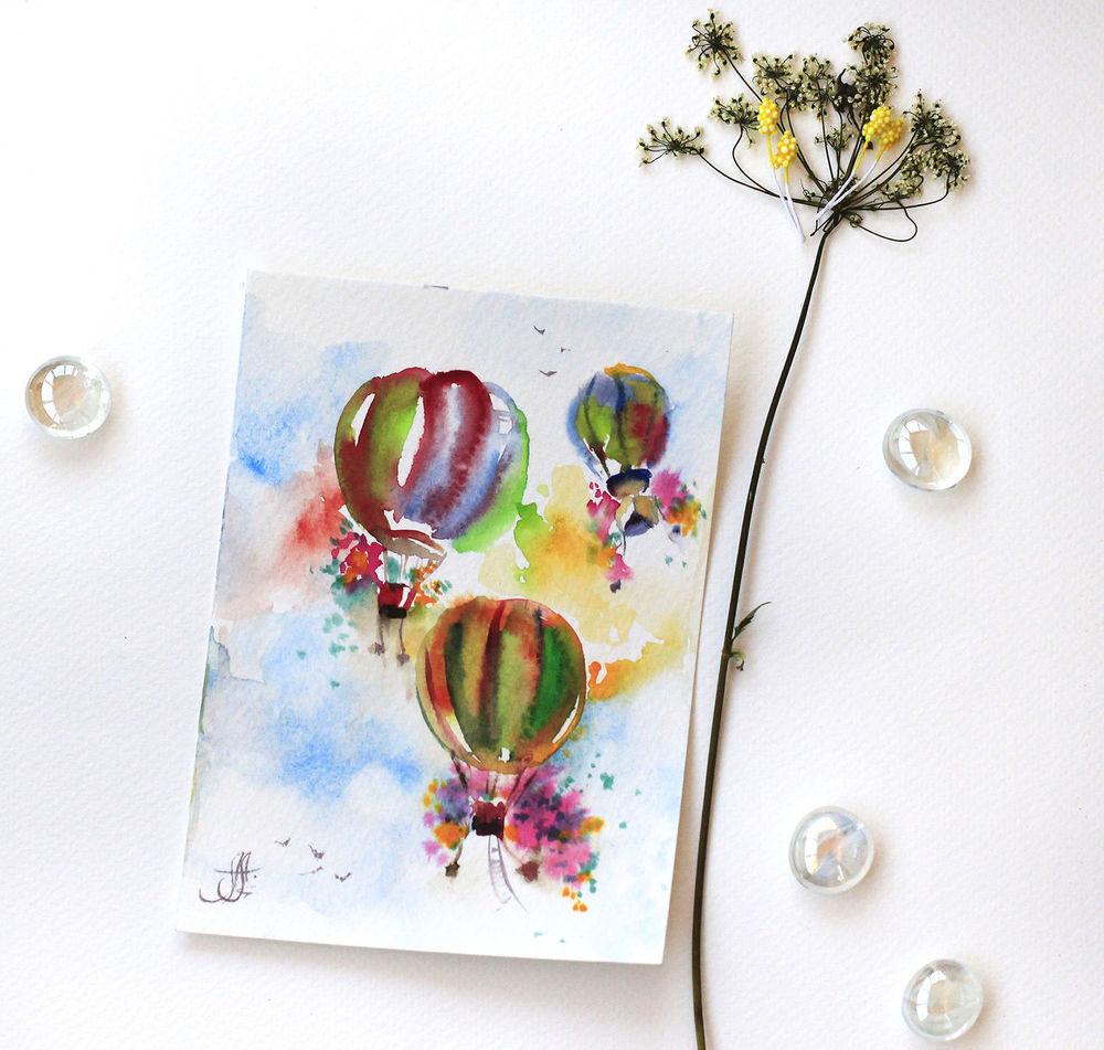 Любимой, открытки ручной работы нарисованные
