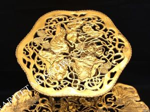 Этажерка подставка жардиньерка стол бронза 76см 2. Ярмарка Мастеров - ручная работа, handmade.