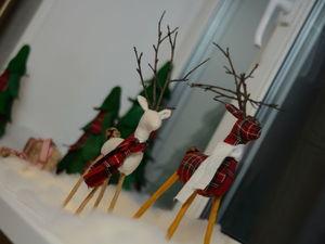 Изготавливаем новогодний декор из ткани и фетра. Ярмарка Мастеров - ручная работа, handmade.