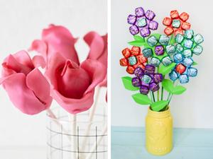 У цветов конфетный вкус: букеты своими руками к 8 марта. Ярмарка Мастеров - ручная работа, handmade.