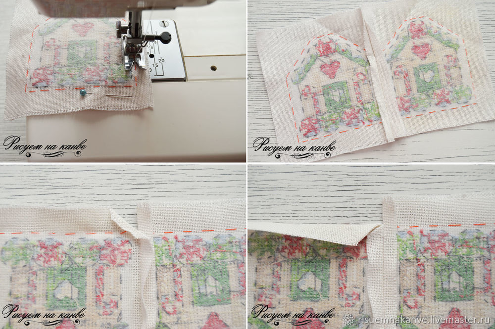 Tree Needle Book Xmas Make your Own Sewing Craft Gingerbread Pin Cushion Angel