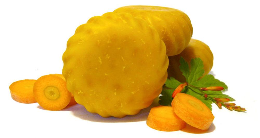 морковное мыло, мыло ручной работы купить
