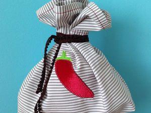 Шьем простой мешочек для трав или сухофруктов. Ярмарка Мастеров - ручная работа, handmade.