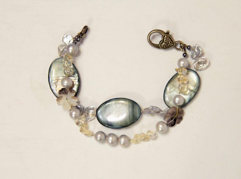 Авторские украшения из натуральных камней  и жемчуга своими руками, фото № 37