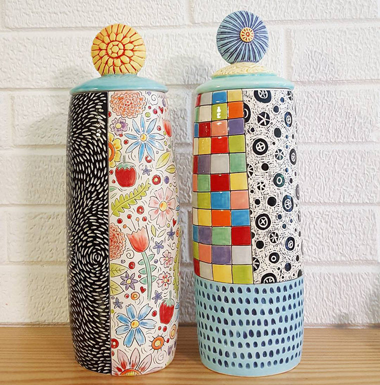 A Love Affair with Clay: Bright Pottery by Charity Hofert, фото № 25