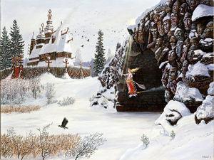 Баба Яга или Богиня Йогиня?. Ярмарка Мастеров - ручная работа, handmade.