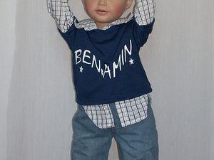 Про Бенжамина, коллекционного мальчика Сьюзи Липпл. Ярмарка Мастеров - ручная работа, handmade.