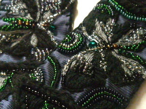 Аукцион на вышитый пояс Крылья бабочки. Ярмарка Мастеров - ручная работа, handmade.