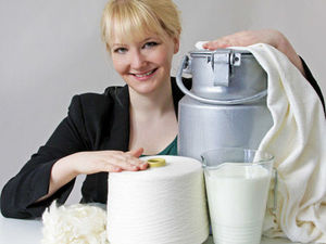 Пряжа из молока. Ярмарка Мастеров - ручная работа, handmade.