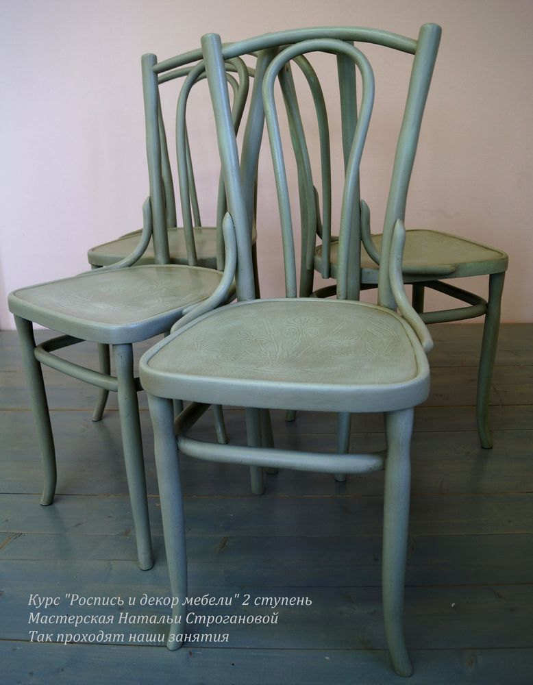 обучение декору мебели, курс декора мебели, обучение росписи