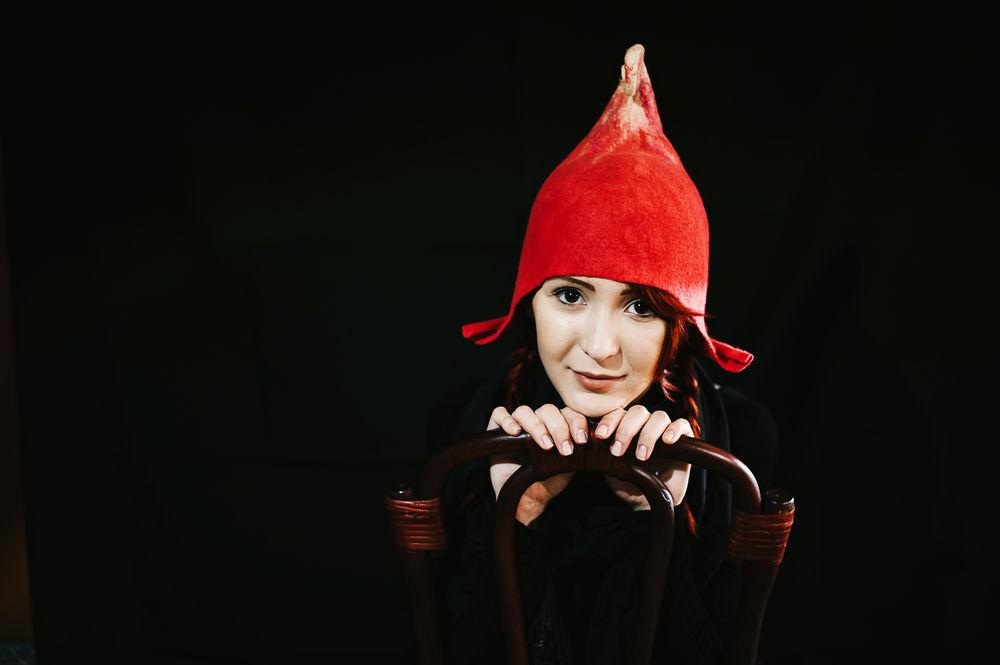 красная шапочка, дракон