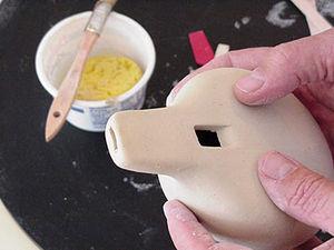 Мастерим простой свисток-окарину из глины   Ярмарка Мастеров - ручная работа, handmade