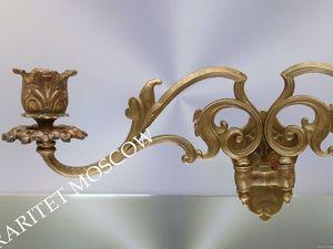 Раритетище Подсвечник рояльный бронза Depose 5. Ярмарка Мастеров - ручная работа, handmade.