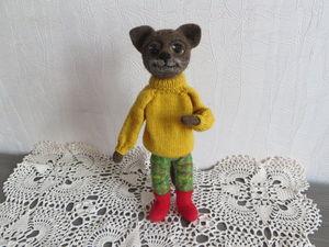 В кошачьей семье пополнение .... Ярмарка Мастеров - ручная работа, handmade.