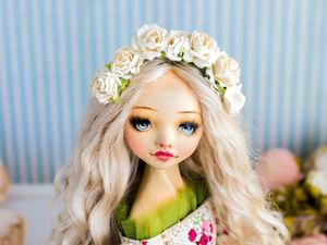 Мария-Луиза  авторская кукла, интерьерная коллекционная кукла. Ярмарка Мастеров - ручная работа, handmade.