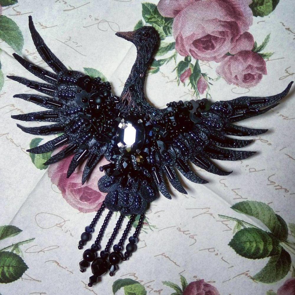 журавлик, черный журавль