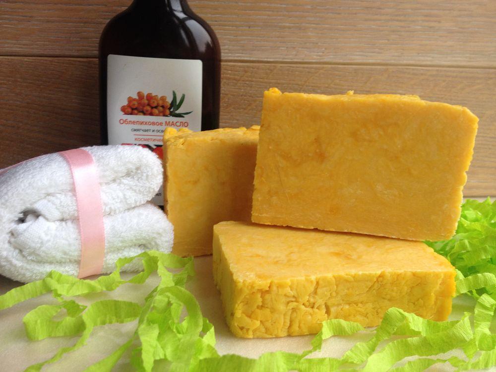 мыло с нуля, мыло натуральное с нуля, мыло натуральное, мыло с облепихой, мыло ручной работы, мыло в подарок