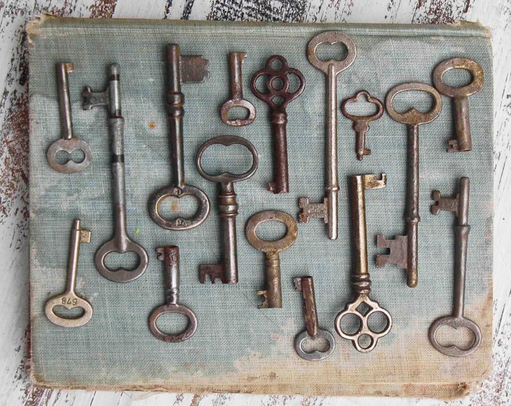 декоративные ключи
