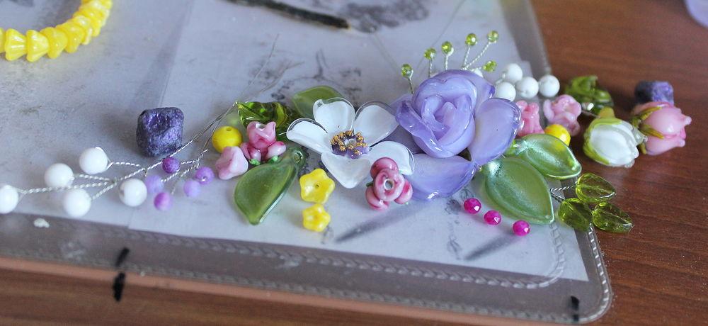 цветы лэмпворк