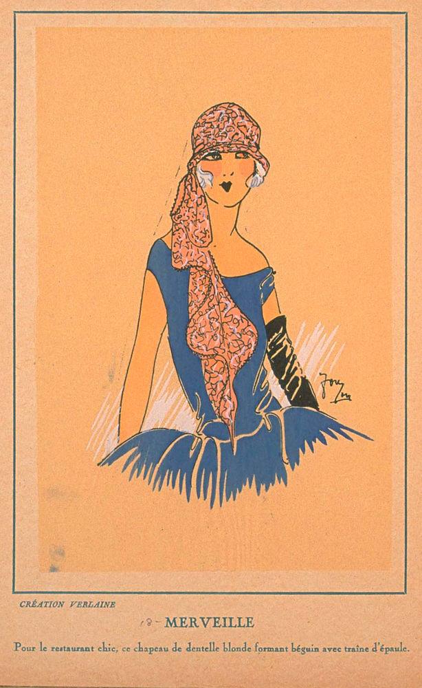 Ах, какие шляпки! Шляпная мода 1922 года по версии французского журнала «Les chapeaux du Tres parisien». Часть 2, фото № 39