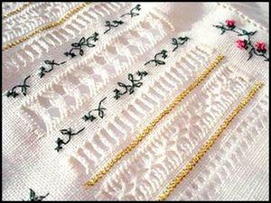 Мережка. Модная, Красивая И Уникальная Вышивка | Ярмарка Мастеров - ручная работа, handmade