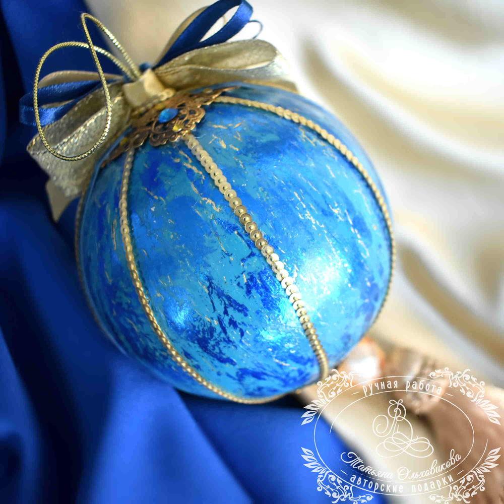 новогодние шары