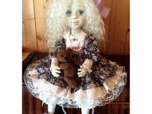 Кукла текстильная Анастасия. Процесс создания. Ярмарка Мастеров - ручная работа, handmade.