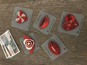 Скоро в магазине «красно-белая» тема любви. Ярмарка Мастеров - ручная работа, handmade.