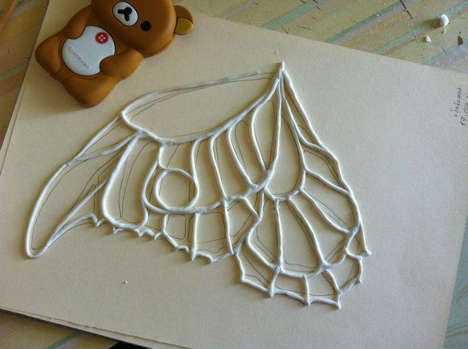 Как сделать крылья для кукол своими руками