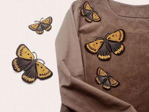 Она пишет дневник бабочки. Ярмарка Мастеров - ручная работа, handmade.