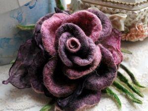 Большая летняя распродажа брошей роз!. Ярмарка Мастеров - ручная работа, handmade.
