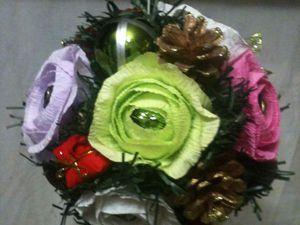 Создаем ёлочный шар из конфет | Ярмарка Мастеров - ручная работа, handmade