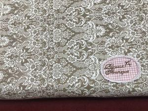 Наша новинка: Бязь Дамаск коричневый. Ярмарка Мастеров - ручная работа, handmade.