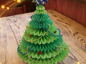 Crafts For Christmas Competition. A Paper Christmas Tree. Livemaster - handmade