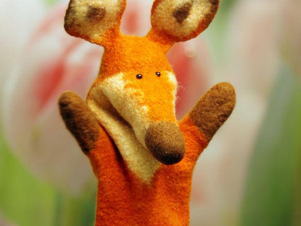 Мастер-класс по созданию игрушки бибабо «Лиса»   Ярмарка Мастеров - ручная работа, handmade
