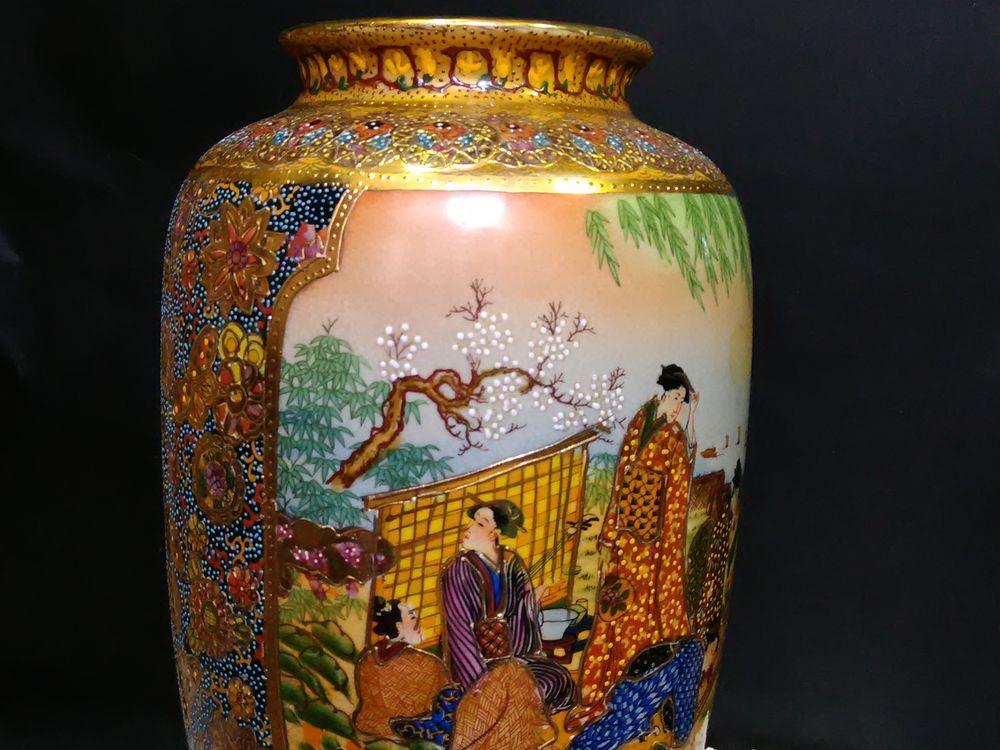 ваза японская, японская живопись