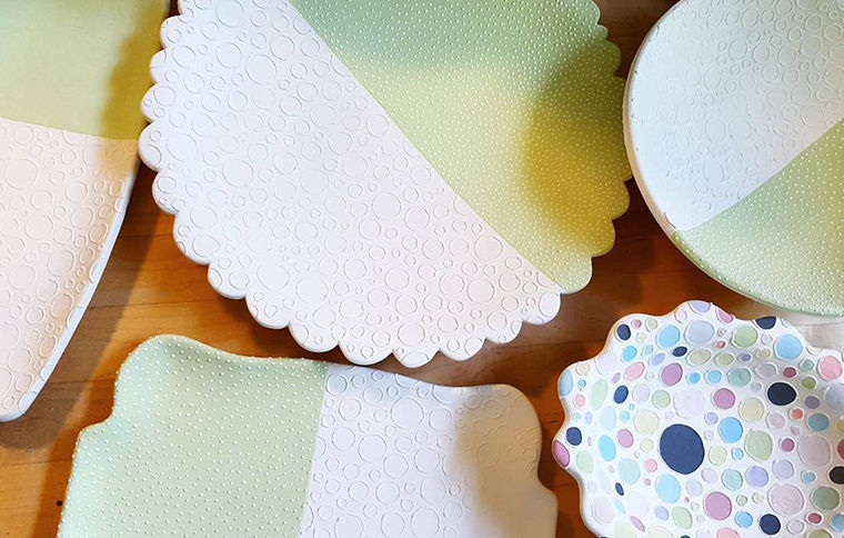 A Love Affair with Clay: Bright Pottery by Charity Hofert, фото № 5