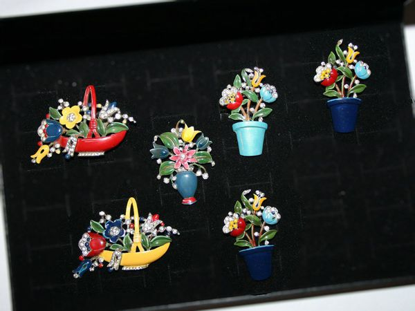 Trifari, корзины Альфреда Филиппе | Ярмарка Мастеров - ручная работа, handmade