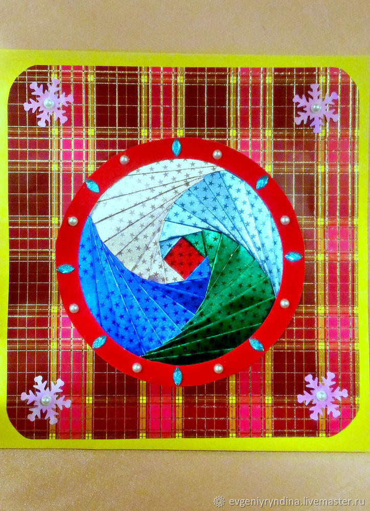 Создаем новогоднюю открытку, фото № 11