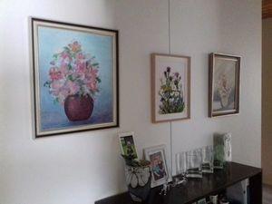 Вышитая картина Цветы лугов и полей. Ярмарка Мастеров - ручная работа, handmade.