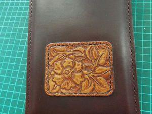 Шьем универсальный чехол-кармашек из кожи. Ярмарка Мастеров - ручная работа, handmade.