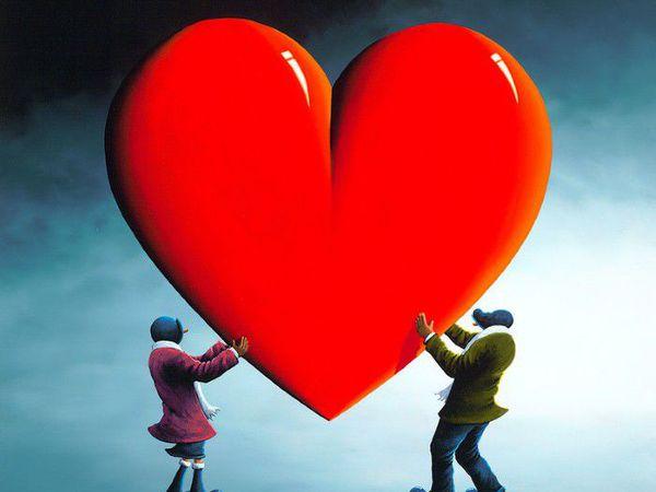 Сердечный художник David Renshaw | Ярмарка Мастеров - ручная работа, handmade