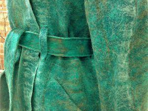 Как сделать красивый карман на валяных изделиях. Ярмарка Мастеров - ручная работа, handmade.