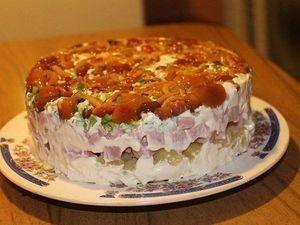 Салат с маринованными опятами. Ну просто лучший рецепт для праздничного стола | Ярмарка Мастеров - ручная работа, handmade