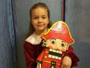 Щелкунчик: наша поделка в детский сад | Ярмарка Мастеров - ручная работа, handmade