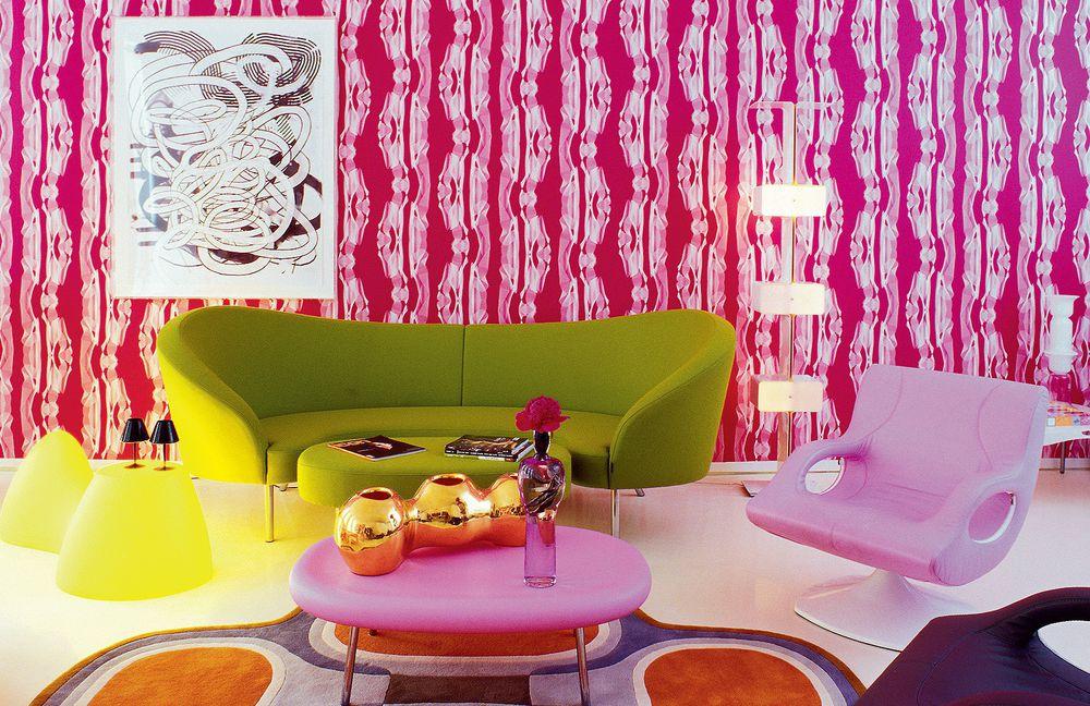 Дизайнер интерьеров Karim Rashid и его необычные работы, фото № 1