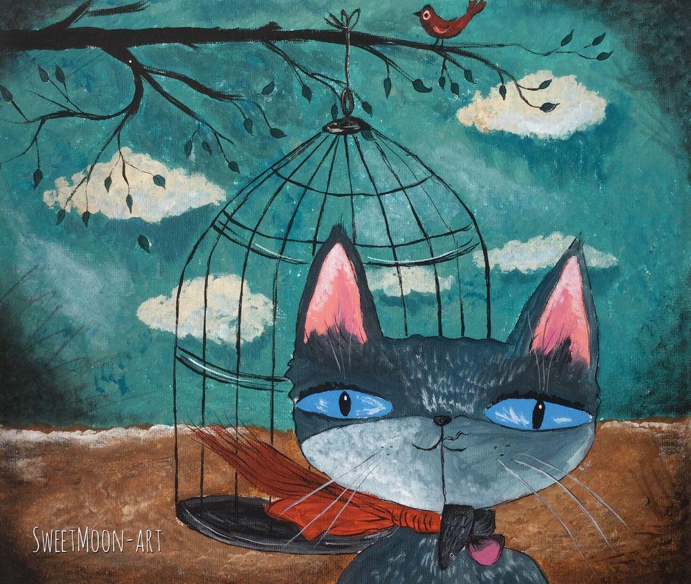 акция, акции и распродажи, акция сегодня, распродажа, картина в подарок, в детскую, для детей, котики, коты и кошки