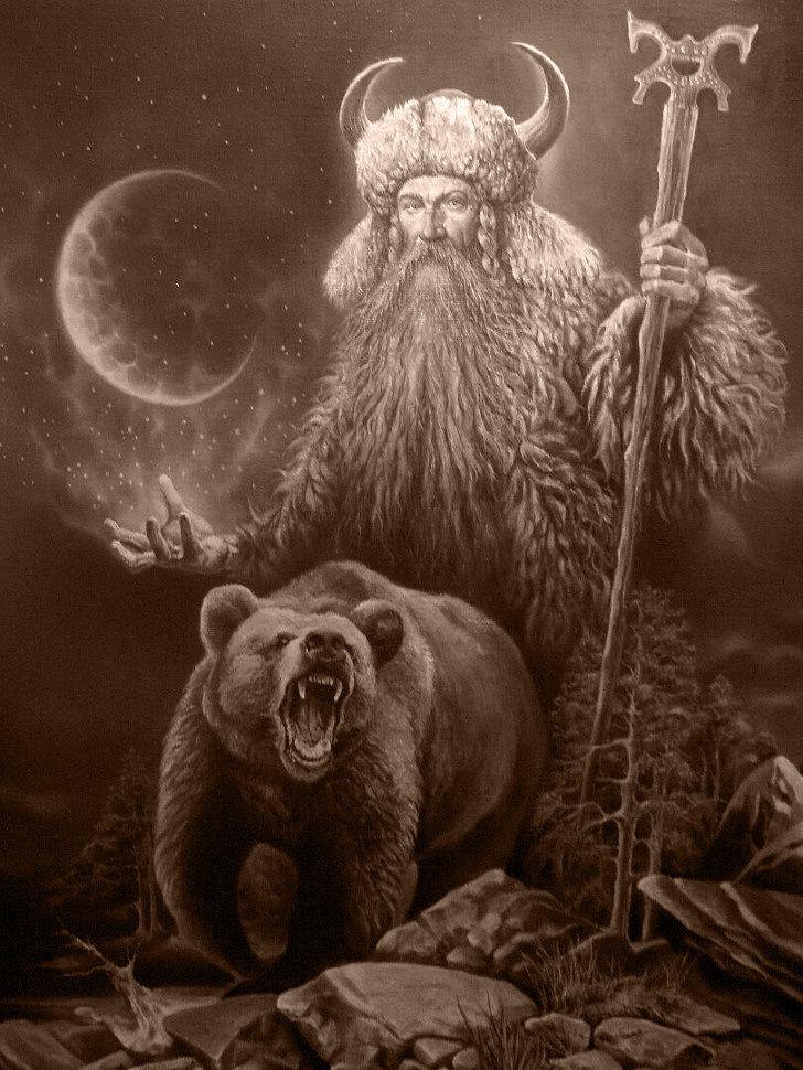 образ медведя